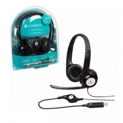 Auriculares Logitech H390 Usb Clear Chat